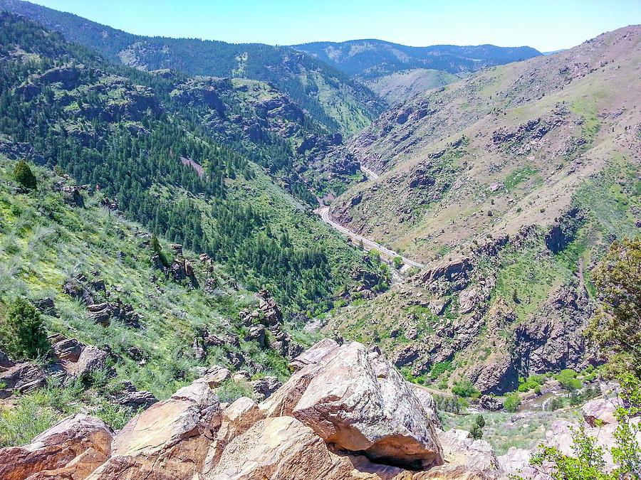 Rocky Photograph - Clear Creek Canyon by Peter Kwiatkowski