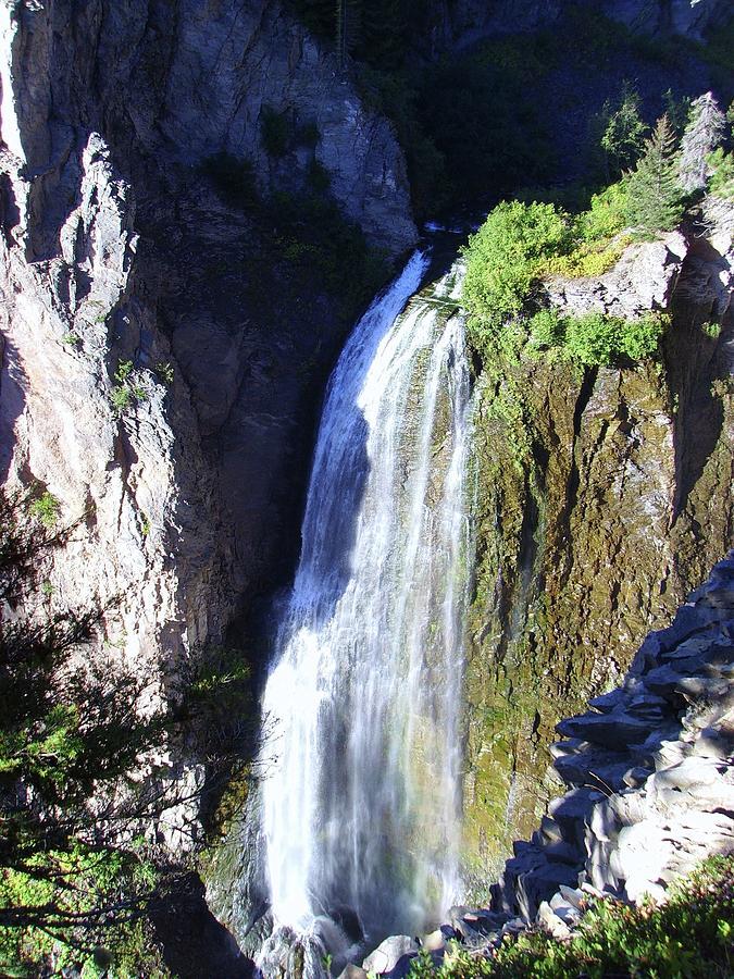 Waterfalls Photograph - Clear Creek Waterfall  by Jeff Swan
