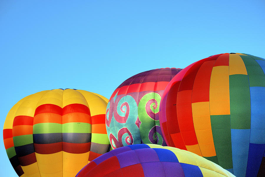 Balloons Photograph - Clear Morning by William Bray