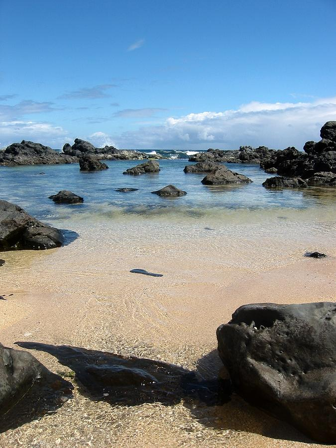 Maui Photograph - Clear Water Shore by Halle Treanor