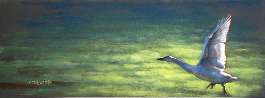 Acrylic Painting - Cleared For Takeoff by Christopher Reid