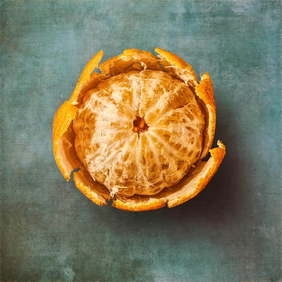 Food Photograph - Clementine by Scott Norris