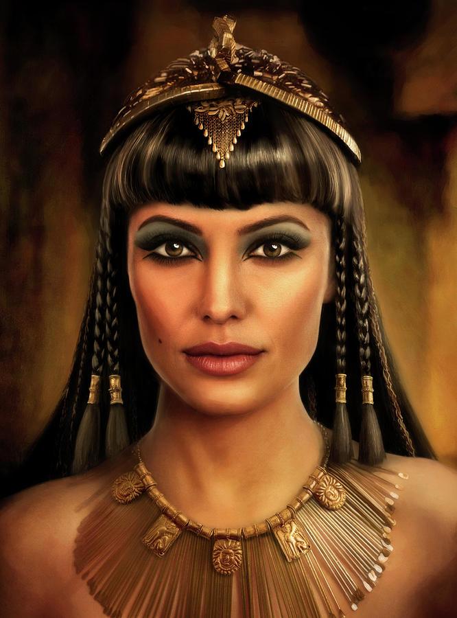 Cleopatra Painting - Cleopatra by Joe Roberts