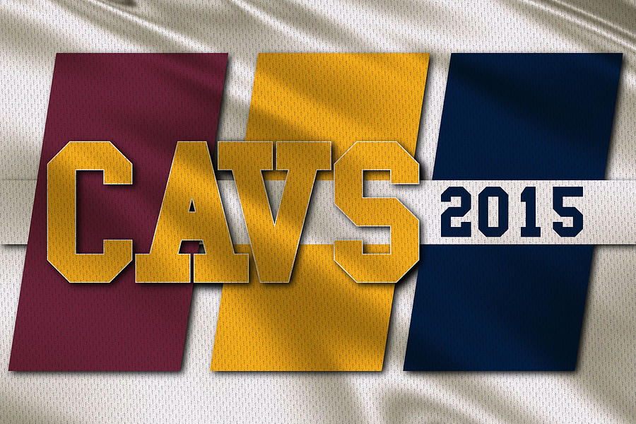 Cavaliers Photograph - Cleveland Cavaliers Flag by Joe Hamilton