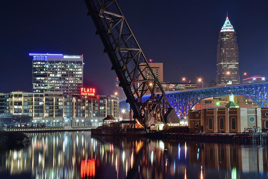 Cleveland Flats East Bank Photograph By Frozen In Time Fine Art Photography