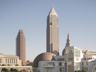 Cleveland Photograph - Cleveland From The Lake by Paul Duda