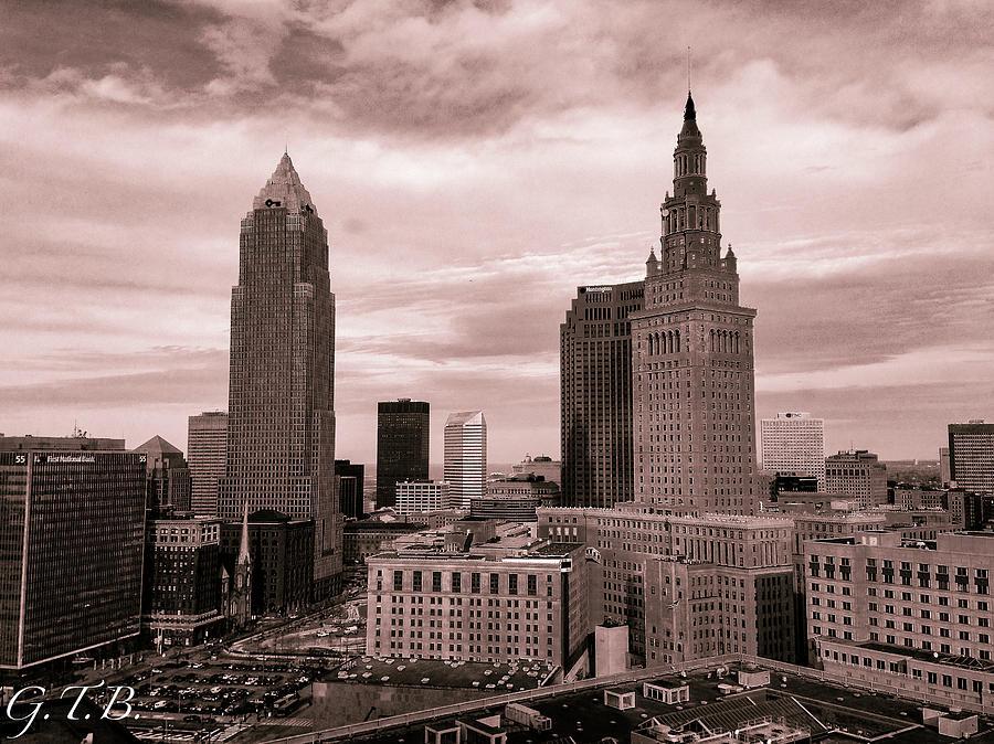 Cleveland Photograph - Cleveland  by Garrett Blum