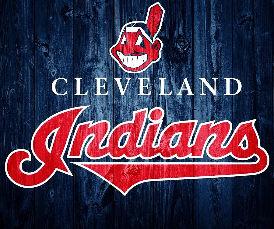 Cleveland Indians Barn Door Photograph
