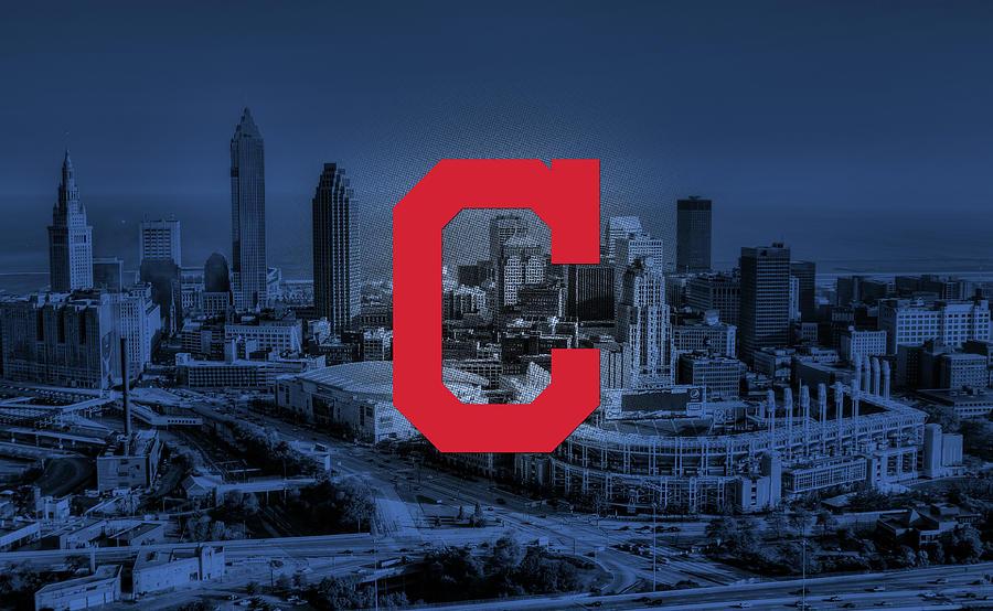 Cleveland Digital Art - Cleveland Indians City by Nicholas Legault