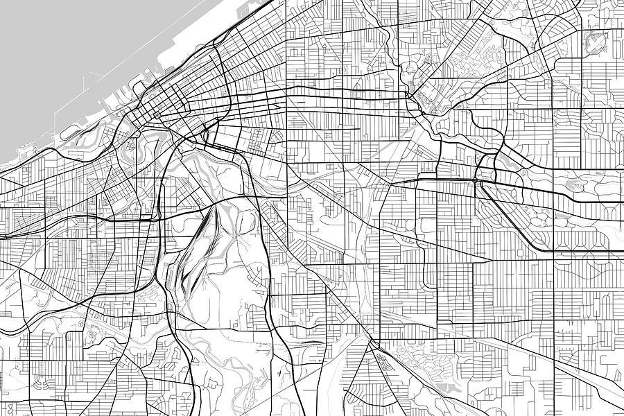 Cleveland Ohio Usa Light Map by Jurq Studio on albuquerque usa map, minneapolis usa map, indiana usa map, detroit usa map, allentown usa map, cheyenne usa map, denver usa map, independence usa map, franklin usa map, wichita usa map, cincinnati usa map, anchorage usa map, columbia usa map, buffalo usa map, south bend usa map, atlanta usa map, tucson usa map, baltimore usa map, toledo usa map, lexington usa map,