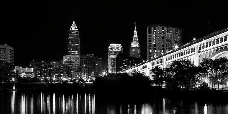 Cleveland Skyline by Dale Kincaid