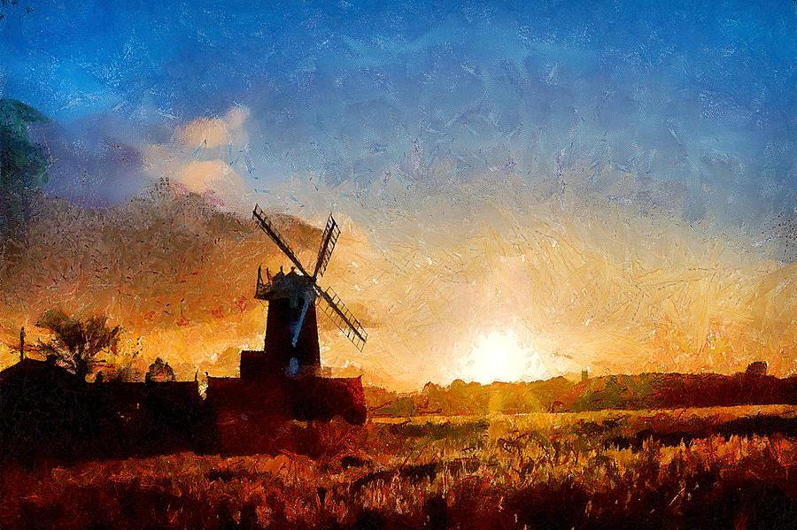 Windmill Photograph - Cley Windmill  I by Gareth Davies