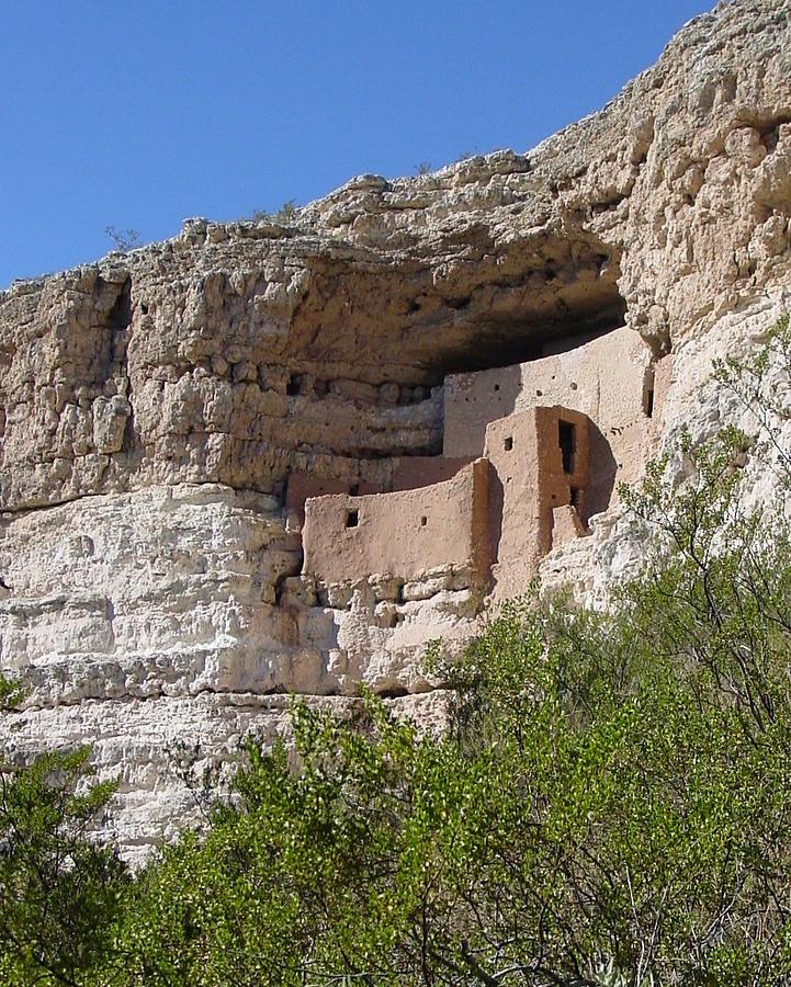 Anasazi Photograph - Cliff Dwellers by Wayne Whitney
