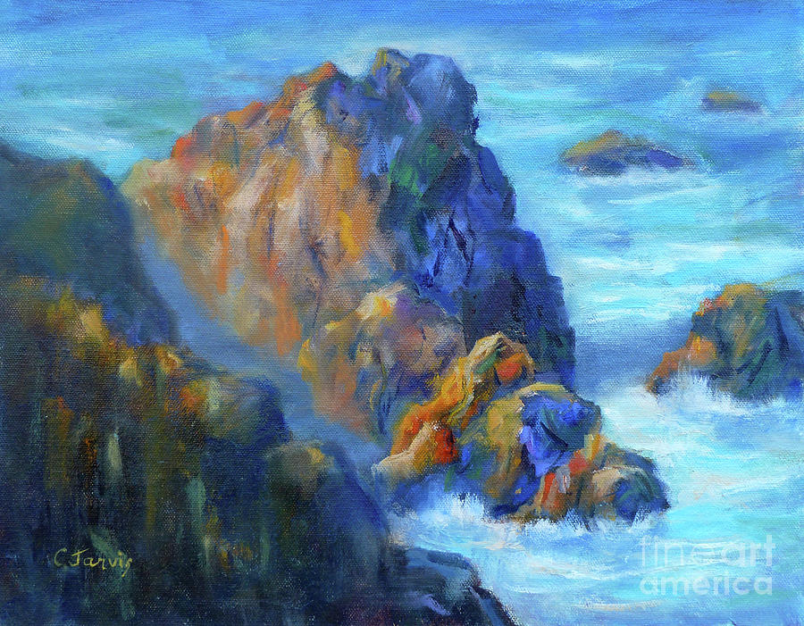 Cliff Mine Painting | Robert Scott Duncanson | Oil Painting ...