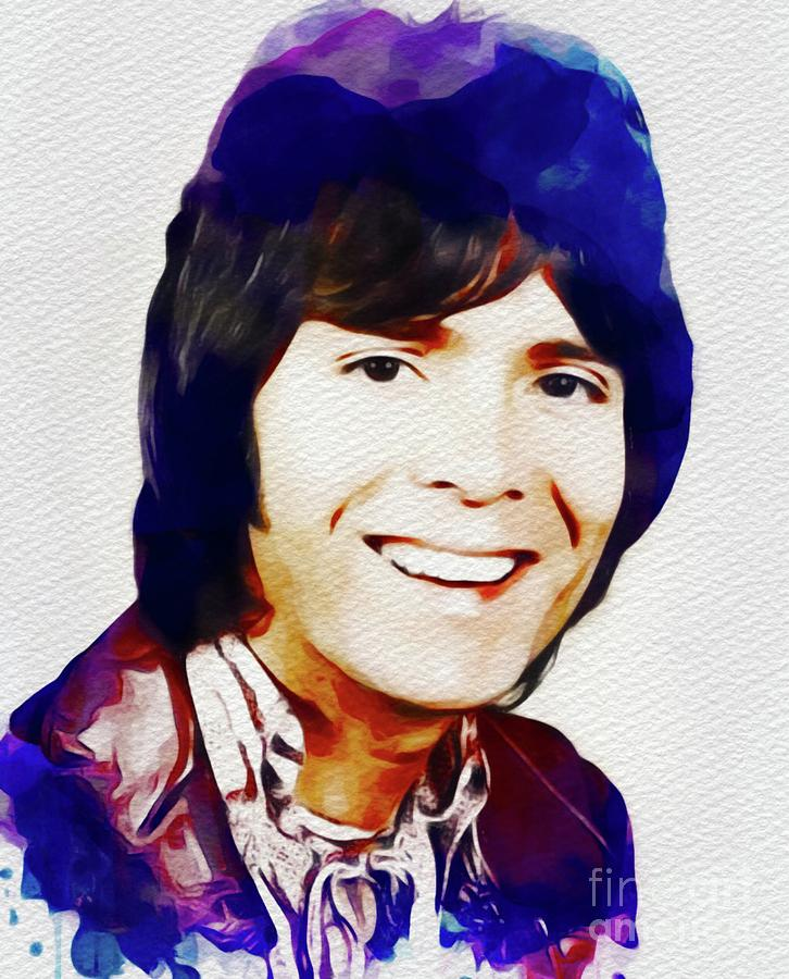 Cliff Richard, Music Legend Painting