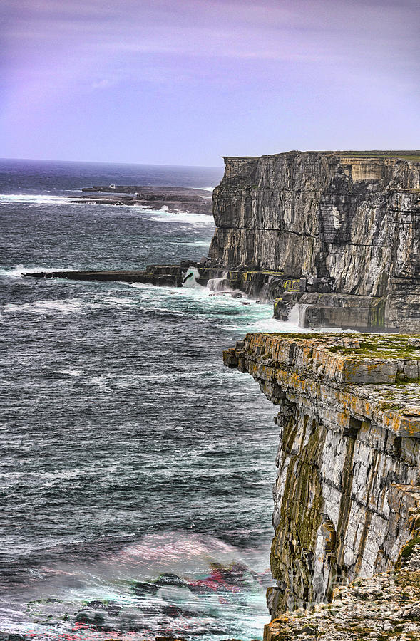 Cliffs of Dun Aengus by Elvis Vaughn