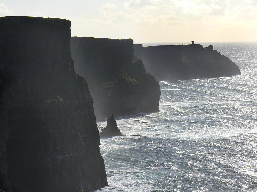 Travel Photograph - Cliffs Of Moher 1 by Mike McGlothlen