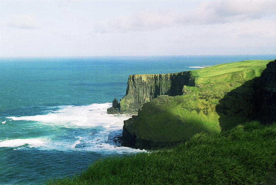 Ireland Photograph - Cliffs of Moher by Chris Eaves