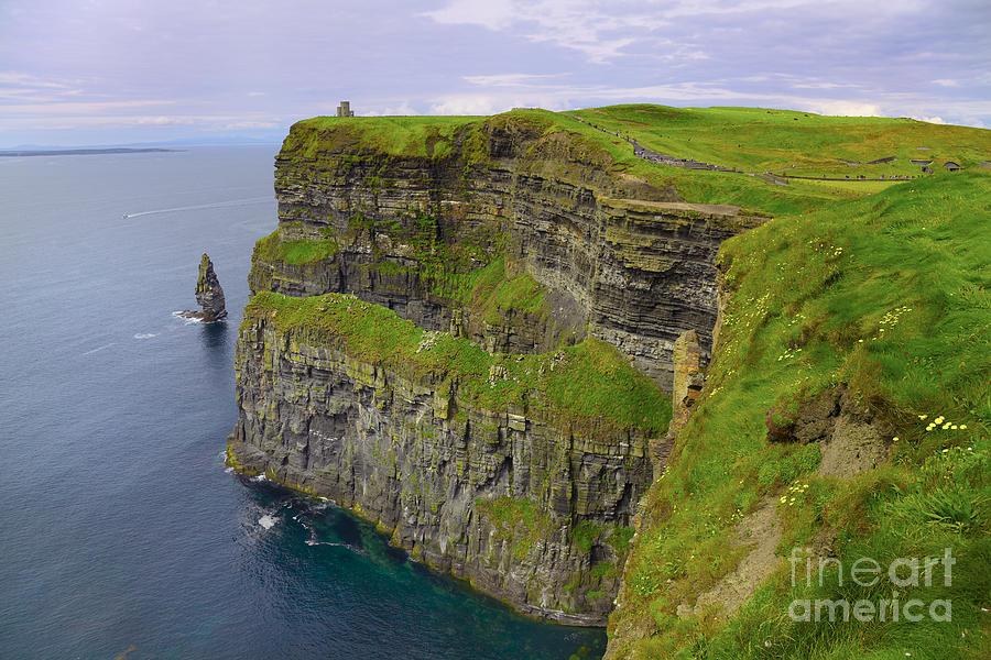 Cliffs Of Moher Photograph - Cliffs Of Moher by Gabriela Insuratelu