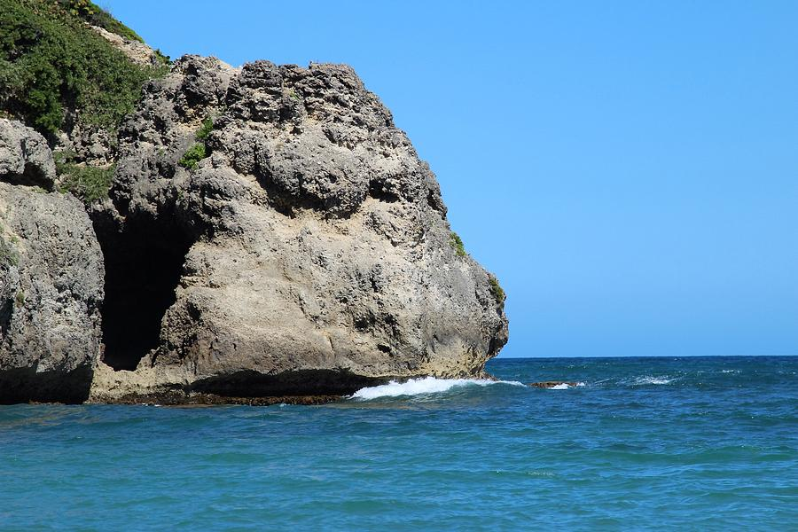 Beach Photograph - Cliffs On The Beach Dominican Republic  by Robert Smith
