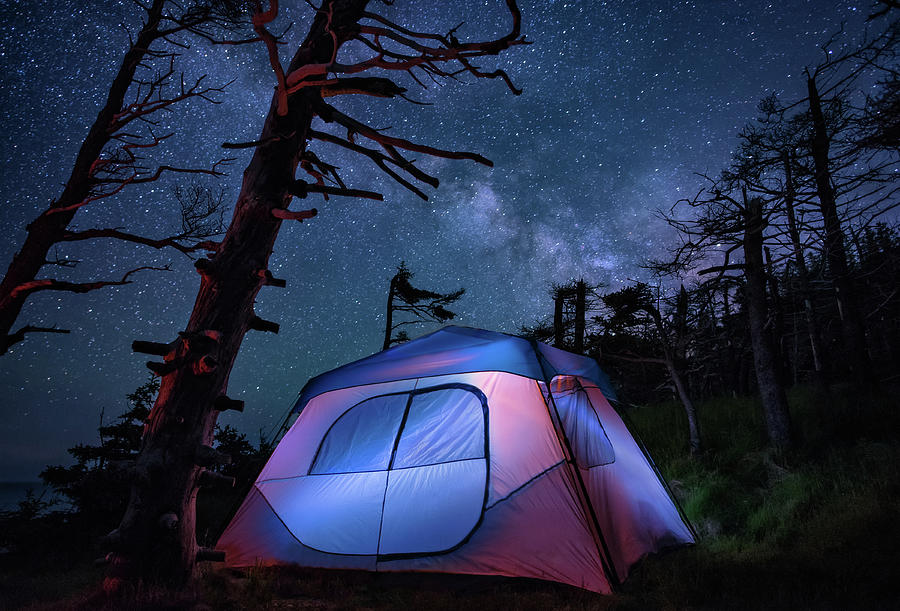 Cliffside Camping by Tracy Munson