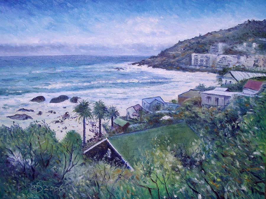 Clifton Beach Painting - Clifton Beach  Cape Town South Africa 2006  by Enver Larney