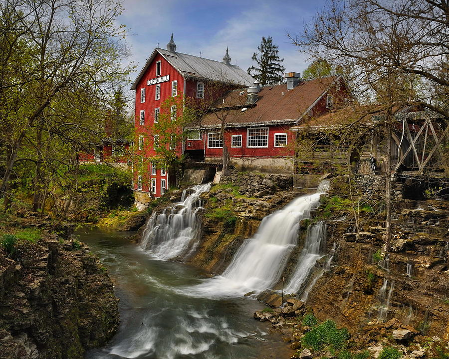 Clifton Mill Photograph by Jeff Burcher