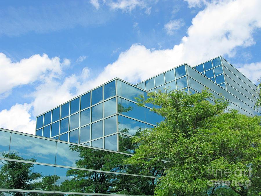 Architecture Photograph - Climbing Skyward by Ann Horn