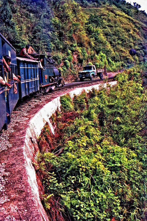 Toy Train Photograph - Climbing The Himalayas by Steve Harrington