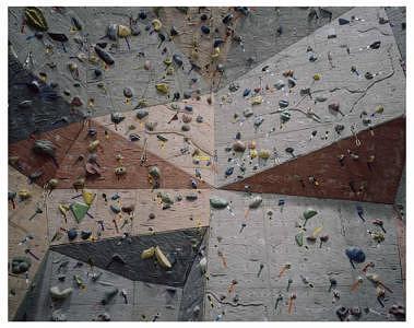 Climbing Wall Photograph - Climbing Wall Dark by Joshua Kim