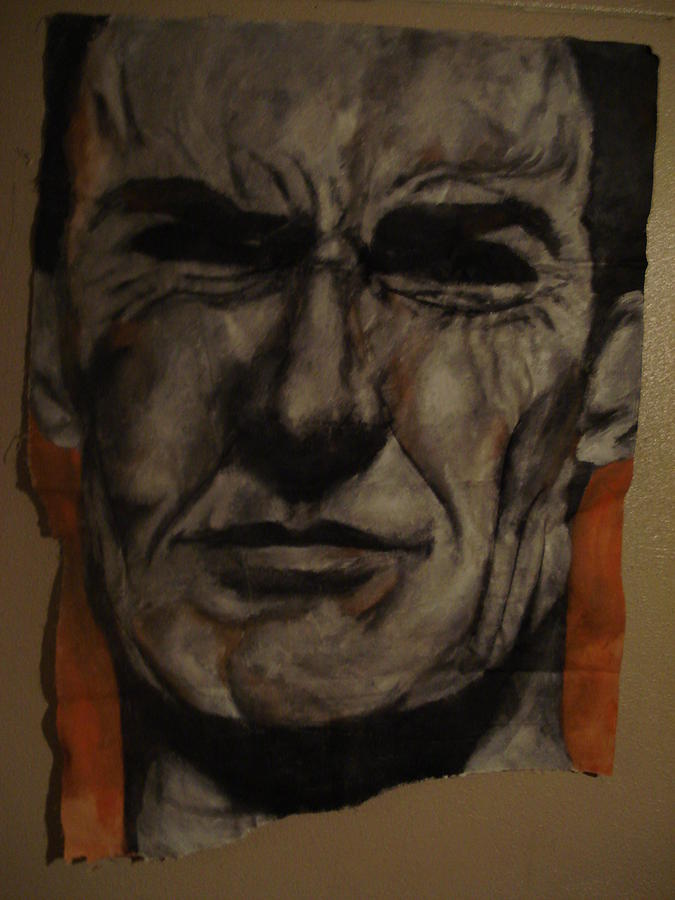 Clint Eastwood Painting by Dario Mohr
