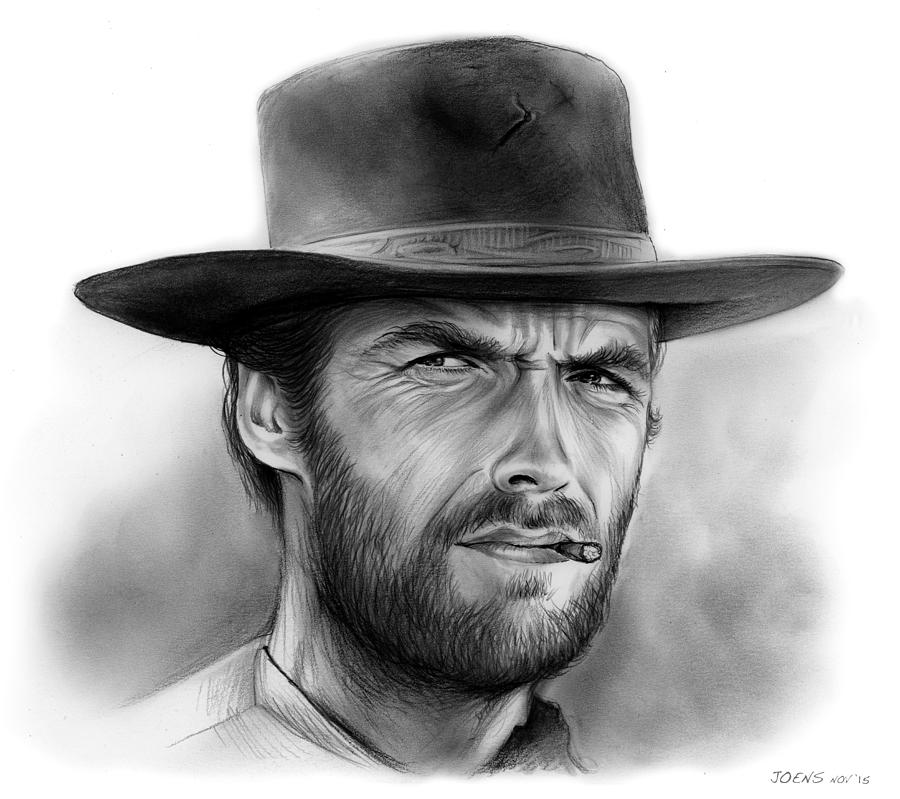 Clint Drawing by Greg ...