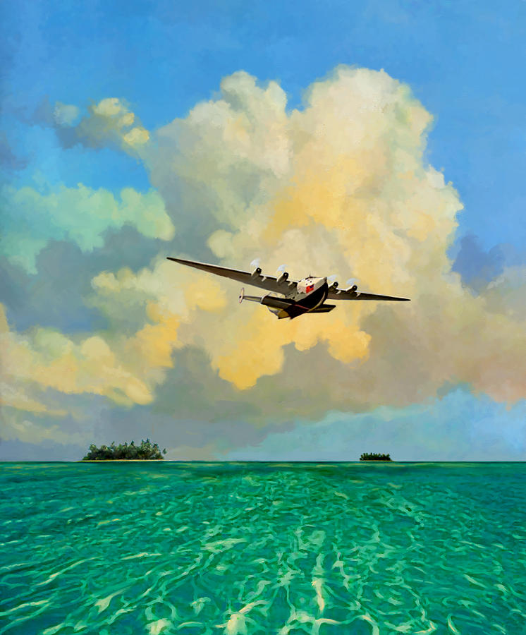 Clipper Over the Islands by David Van Hulst