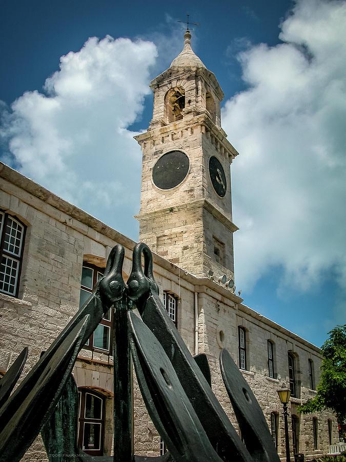 Clock Tower at Naval Dockyard, Bermuda 2 by Frank Mari