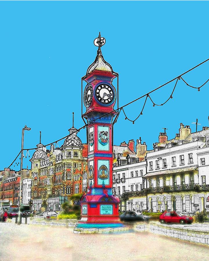 Weymouth Photograph - Clock Tower by Paul Hemmings