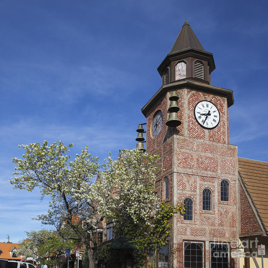 Clock Tower Solvang by Shishir Sathe