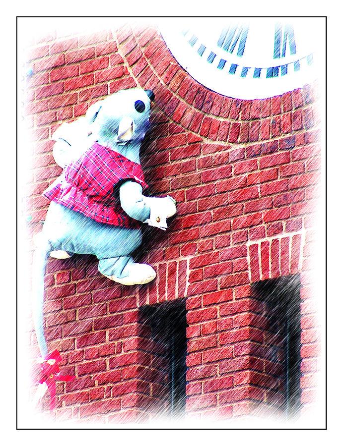 Hudson Photograph - Clocktower Mouse by Kenneth Krolikowski