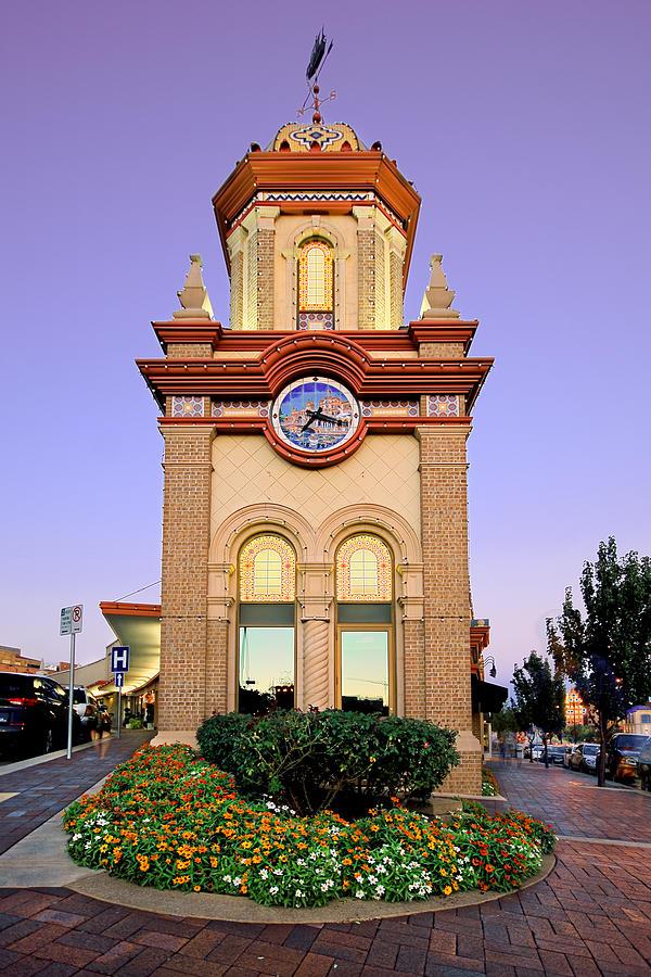 Clocktower Photograph - Clocktower by Ryan Heffron