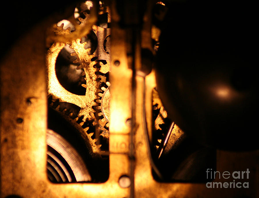 Clock Photograph - Clockwork by Jason Williams