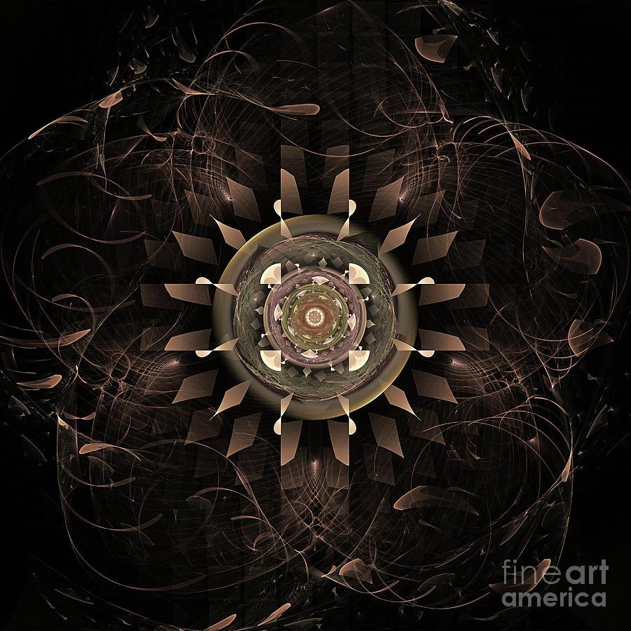 Clockwork Digital Art - Clockwork by John Edwards