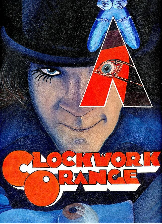 Illustration Painting - Clockwork Orange by Michael Hudak