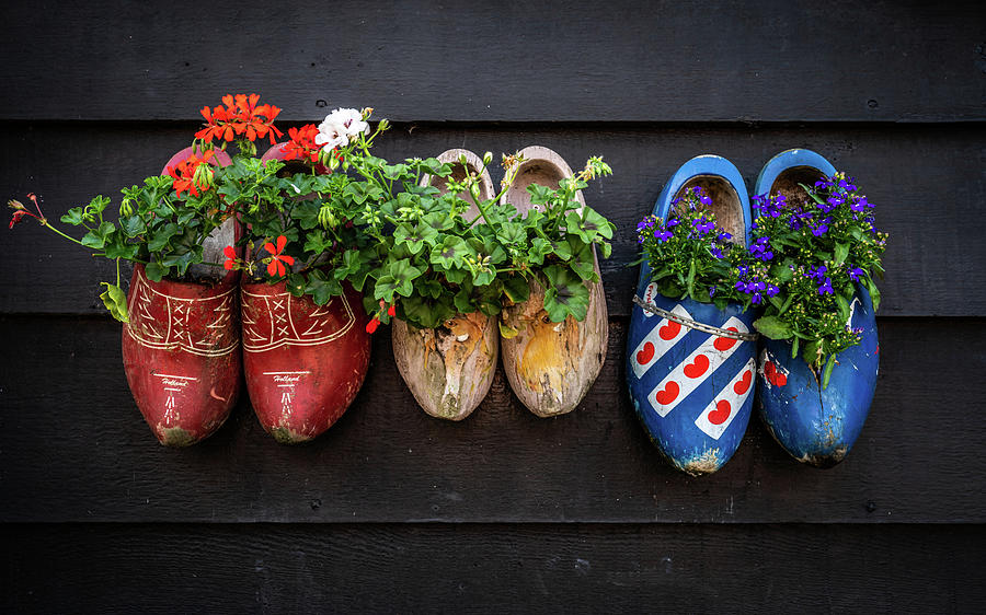 The Netherlands Photograph - Clogs by Framing Places