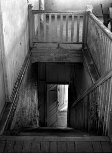 Close City School Stairwell Photograph by Joe Miller