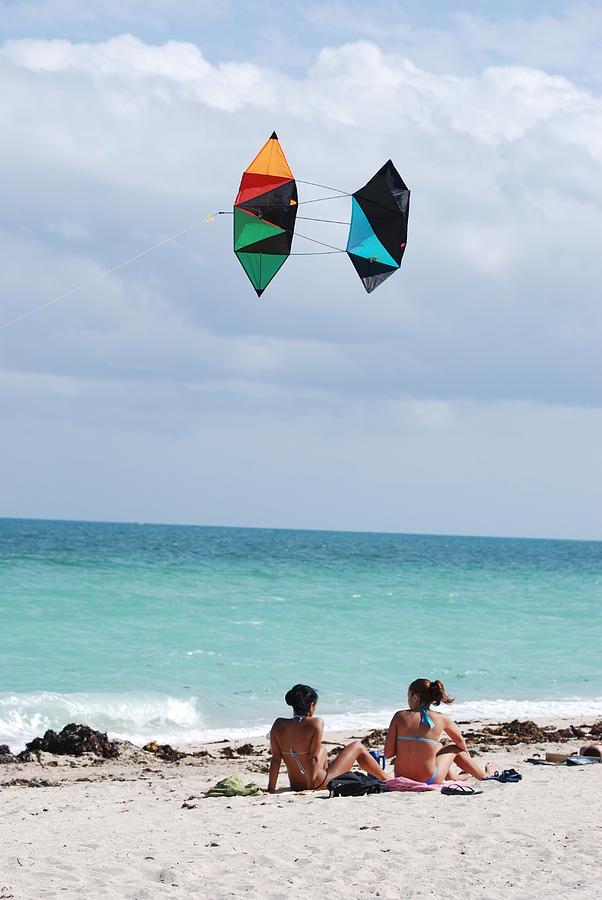 Kites Photograph - Close Encounters by Rob Hans