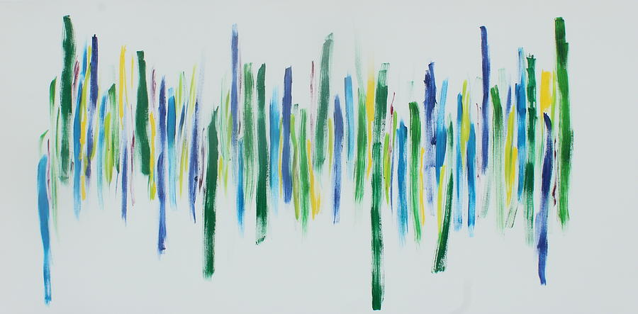 Abstract Painting - Close Harmony by Tom Atkins