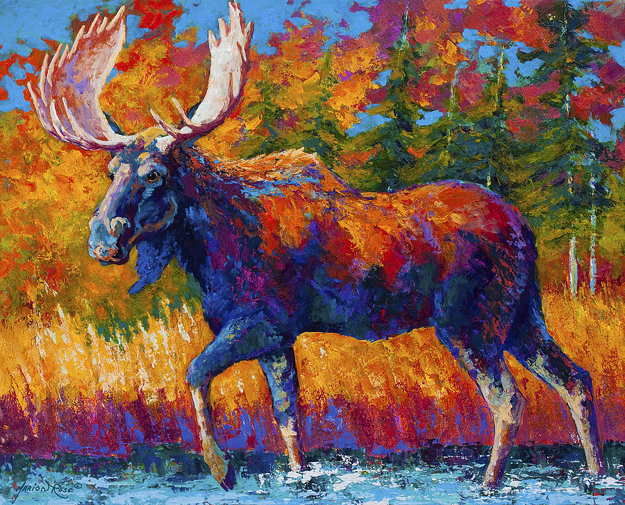 Close Range Painting by Marion Rose
