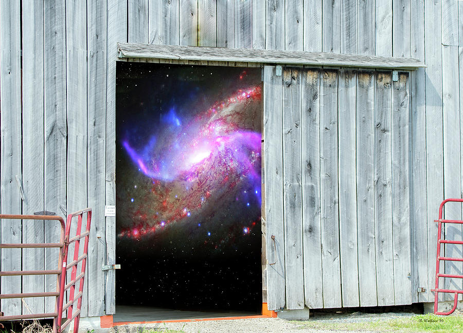 Close The Barn Door Photograph By Brian Wallace