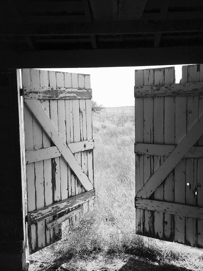 Close The Barn Door Photograph By Kevin Brennan And Brett Hanavan