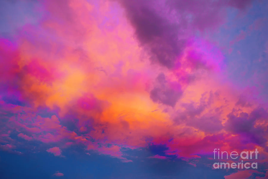 Close to Heaven #129 Painting by Priscilla Batzell Expressionist Art Studio Gallery