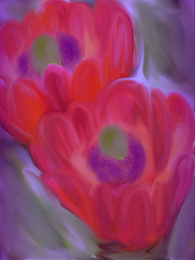 Wildflowers Painting - Close Up Beauty by Vickie Judkins
